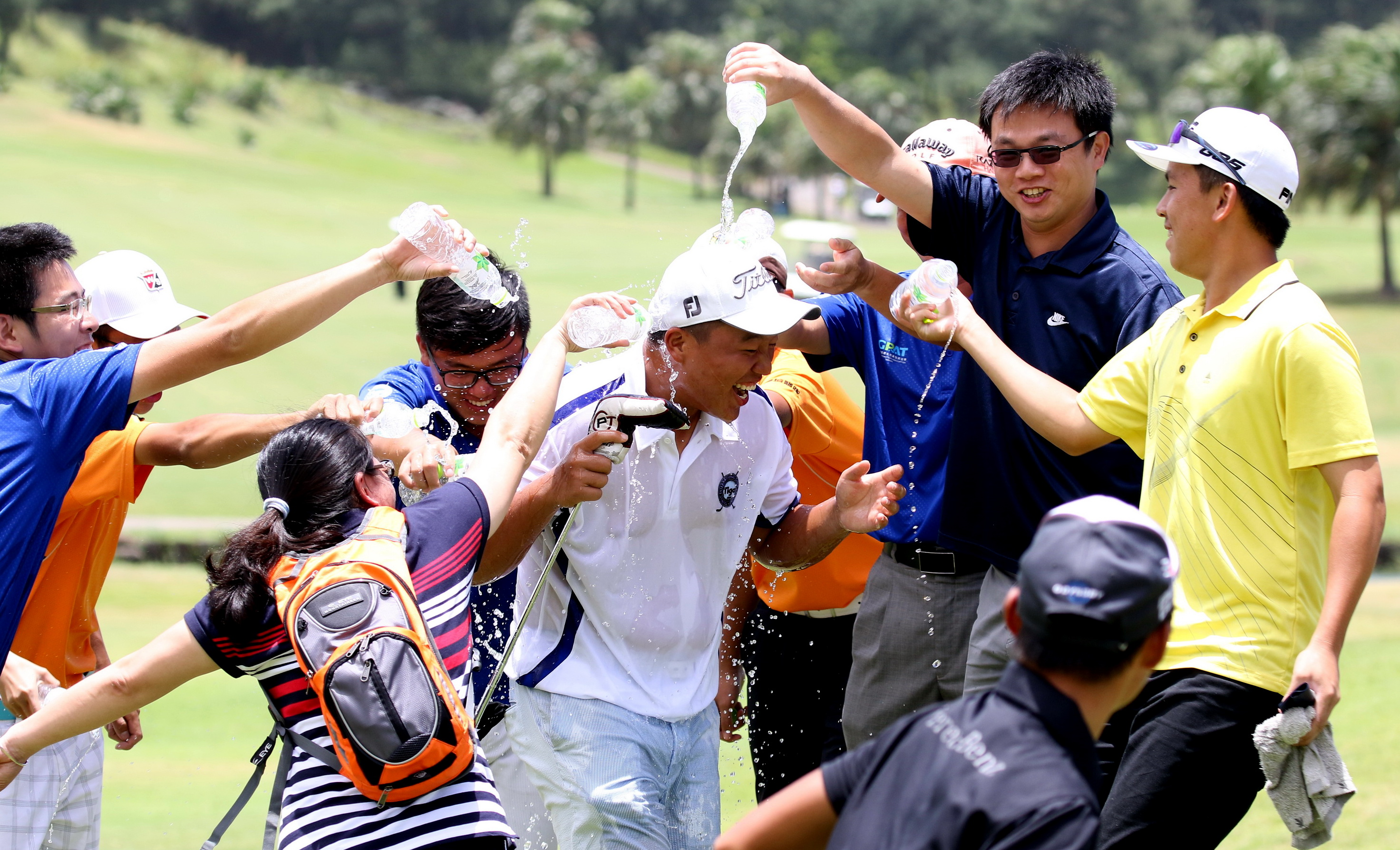 Simon Lin won the 2015 Taiwan Junior Open